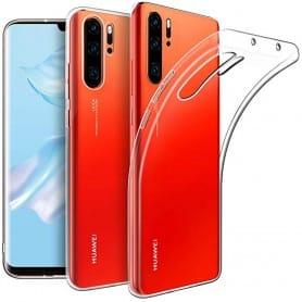 Silikon skal Transparent Huawei P30 Pro mobilskal skydd caseonline