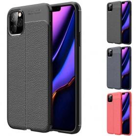 "Läder mönstrat mobilskal av silikon Apple iPhone XI 5.8"" 2019"