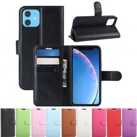 """Mobilplånbok 3-kort Apple iPhone XIR 6.1"""" 2019 mobilskal till nya iphone CaseOnline"""