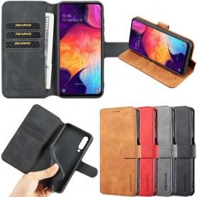 DG-Ming mobilplånbok 3-kort Samsung Galaxy A50 (SM-A505F) mobilskal fodral