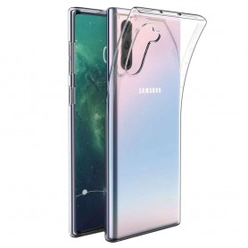 Silikon skal transparent Samsung Galaxy Note 10 (SM-N970F) mobilskal