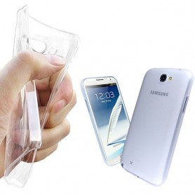 Galaxy Note 2 silikon skal transparent