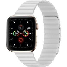 Apple Watch 5 (44mm) Læder loop rem - Papaya