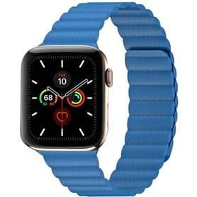 Apple Watch 5 (44mm) Læder loop rem - Lemon