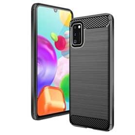 Børstet silikone cover Samsung Galaxy A41 (SM-A415F)