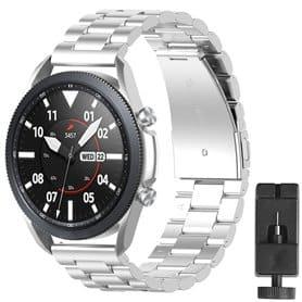 Armbånd rustfri stål Samsung Galaxy Watch 3 (41mm) - Sølv