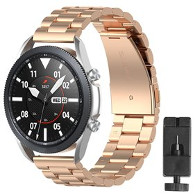 Armbånd rustfri stål Samsung Galaxy Watch 3 (41mm) - Rose