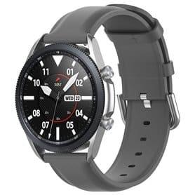 Læderarmbånd Samsung Galaxy Watch 3 (41mm) - Grå