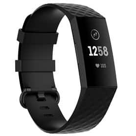 Sport Armbånd til Fitbit Charge 4 - Sort
