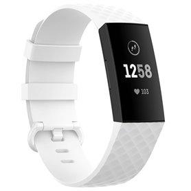 Sport Armbånd til Fitbit Charge 4 - Hvid