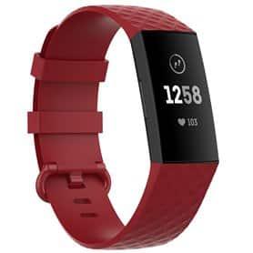 Sport Armbånd til Fitbit Charge 4 - Rød