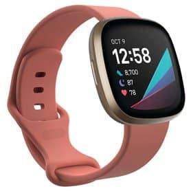 Sport Armbånd til Fitbit Sense - Lyserød
