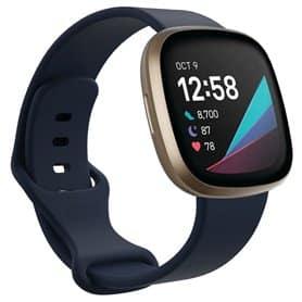 Sport Armbånd til Fitbit Sense - Mørkeblå