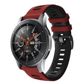 Twin Sport Armbånd Samsung Galaxy Watch 46 - Rød/sort