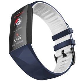 Twin Sport Armbånd Fitbit Charge 4- Blå/hvid