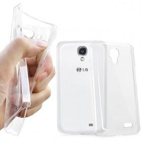 LG F70 silikon skal transparent