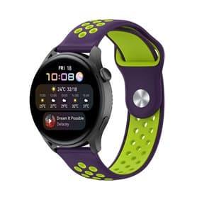 EBN Sport Armbånd Huawei Watch 3 - Lilla/grøn