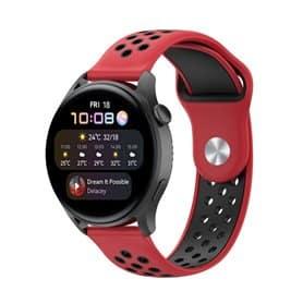 EBN Sport Armbånd Huawei Watch 3 - Rød/sort