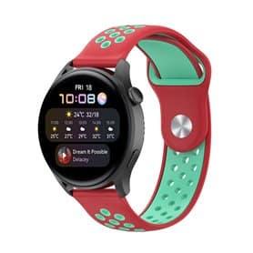 EBN Sport Armbånd Huawei Watch 3 - Rød/mint