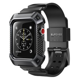SUPCASE UB Pro armbånd Apple Watch 38mm - Sort