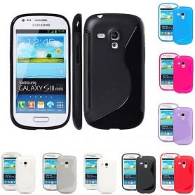 S Line silikon skal Galaxy S3 Mini