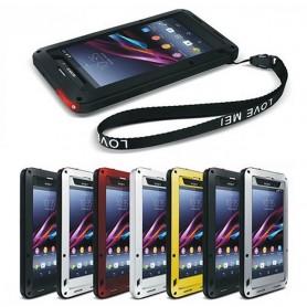 LOVE MEI Powerful Sony Xperia Z1 mobilskal metall