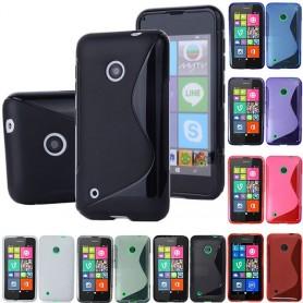 S Line silikon skal Nokia Lumia 530