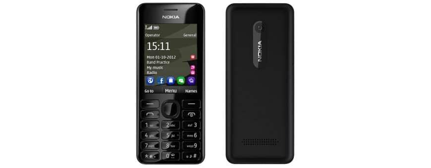 Køb mobil tilbehør til Nokia 206 på CaseOnline