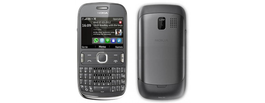 Køb mobil tilbehør til Nokia Asha 302 på CaseOnline.se