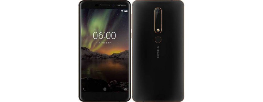 Køb billige mobil tilbehør til Nokia 6 2018 på CaseOnline.se