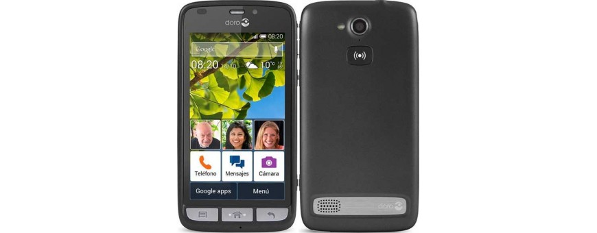Køb mobil shell og tilbehør til Doro Liberto 820 på CaseOline.se