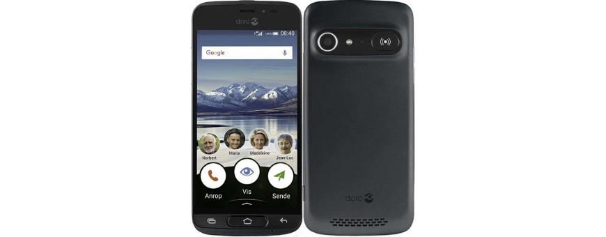 Køb mobil shell og tilbehør til Doro Liberto 8040 på CaseOline.se