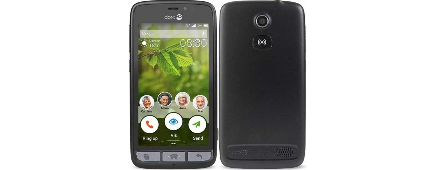 Køb mobil shell og tilbehør til Doro Liberto 8030 på CaseOline.se