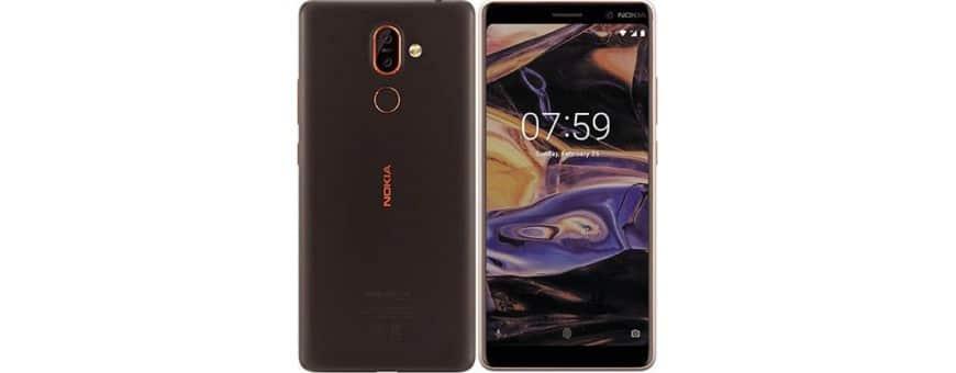 Køb mobilt shell og mobildæksel til Nokia 7 Plus på CaseOnline.se