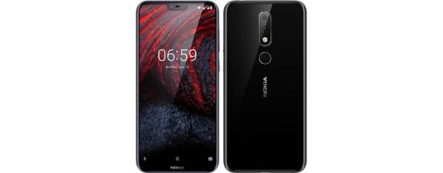 Køb mobil shell og cover til Nokia 6.1 Plu (TA-1083) på CaseOnline.se