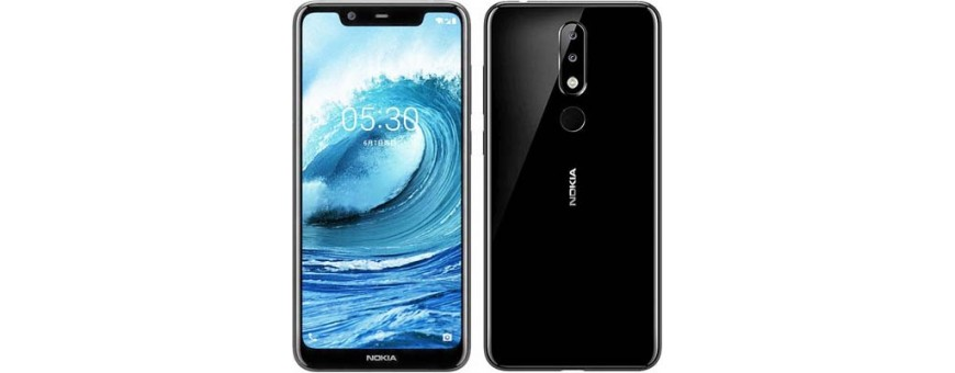 Køb mobilskal og beskyttelse til Nokia 5.1 Plus på CaseOnline.se