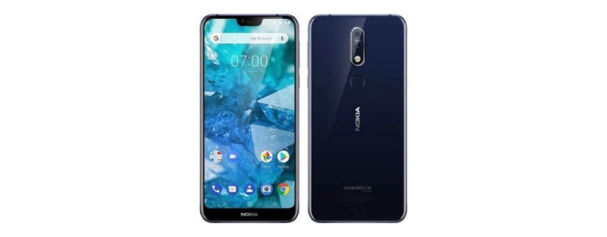 Køb mobildæksel og beskyttelse til Nokia 7.1 Plus på CaseOnline.se
