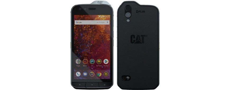 Køb mobilt shell og tilbehør til CAT S61 på CaseOnline.se